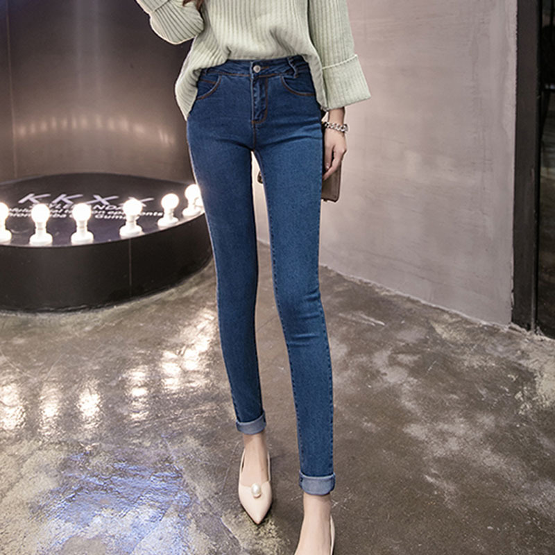 Women jeans New Fashion woman jeans femme denim pants denim pants slim stretch jeans long pants   boyfriend jeans for women Y457Одежда и ак�е��уары<br><br><br>Aliexpress
