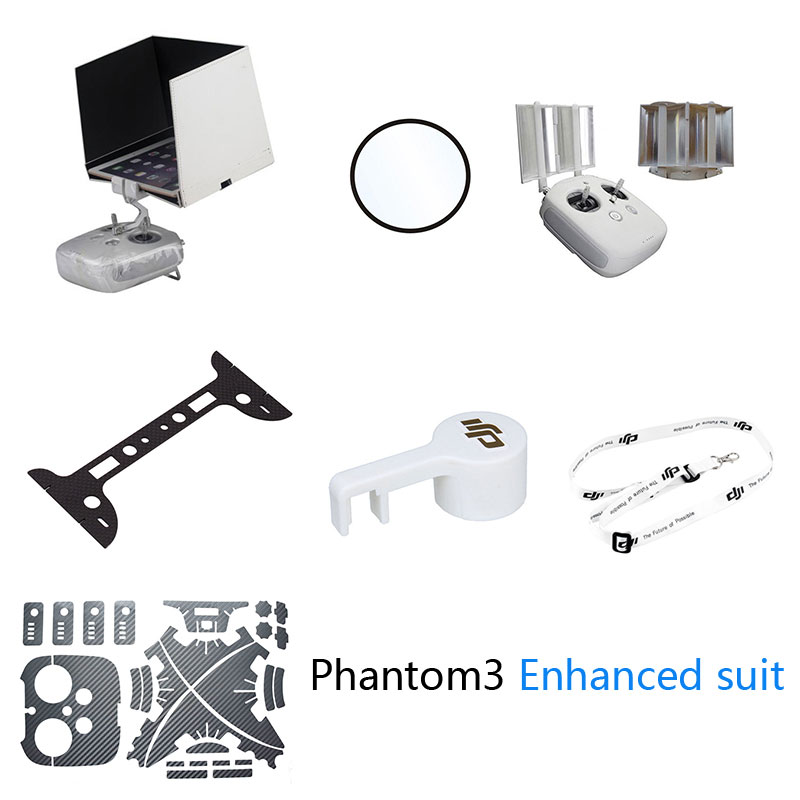 UAV Phantom 3 Enhanced suit The new machine must yield signal intensifier bottom protective lens cap sticker HD light shield<br><br>Aliexpress