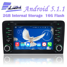 Android 5.1.1 Car DVD Player GPS For Audi A3 2003 2004 2005 2006 2007 2008 2009 2010 2011 S3 RS3 RNSE-PU Quad-Core Wifi 3G Radio(China)