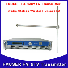 CZH FU-350W 350W  fm audio Broadcasting RF amplifier  FM Radio transmitter and FU-DV1 antenna  A KIT