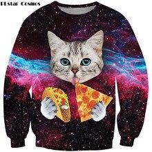 popular space cat sweatshirt buy cheap space cat sweatshirt lots
