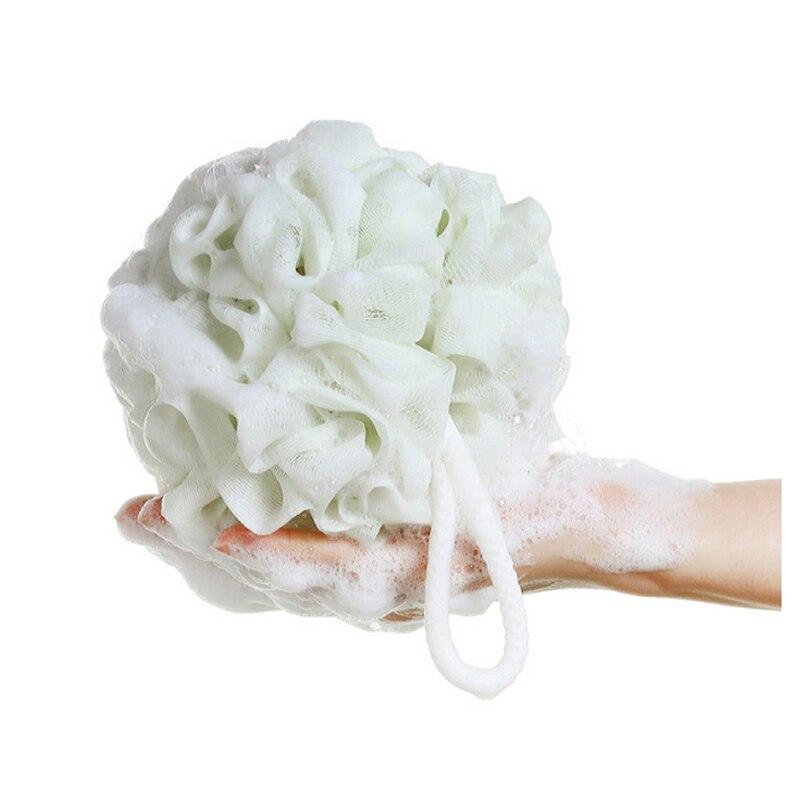 2016 New Bath Sponges Scrubbers Shower Massage Ball Soft Flower Shape Bubble<br><br>Aliexpress