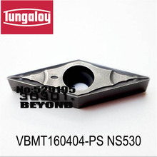 VBMT160404-PS/VBMT160408-PS NS530/T9115/T9125,turning insert original tungaloy tungsten carbide inesrt VBMT 160404 160408