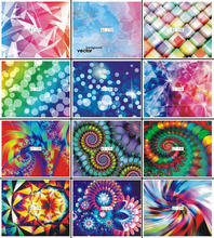 1 Pc 12 Designs Fantasy Colorful Flower Print Small Sheet Water Nail Stikers Nail Art Water Decals QJ-178-198