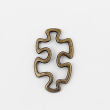 Buy 20pcs Antique Bronze Open Autism Awareness Puzzle Piece Charms Pendants Connectors Jewelry Findings for $3.88 in AliExpress store