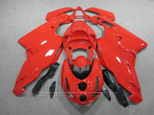 lower price injection molded fairing kit for Ducati 749 999 03 04 red fairings set 749 999 2003 2004 HR36(China)