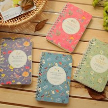 South Korea small pure and fresh creative stationery rollover coil diary you hand account note book office notepad