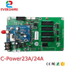 LED dispaly Asynchronous Control card C-Power 2 series LUMEN Full color card C-power23A/C-Power24A with 3G 4G module(China)