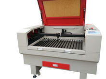 9060  80w  CO2 laser engrave and cut machine used for ABS , acrylic ,cloth ,leather and other non-metallic materials