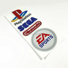 Pack of 4PCS Game Playstation Sega Ea sports Nintendo Motorcycle Helmet Motorbike Car Sticker Decals Reflective(China)