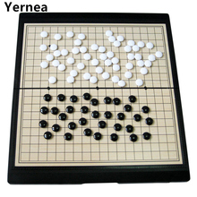 New High quality Chess Game large magnet Game series Go Game folding chessboard classic puzzle Chess Set game Yernea