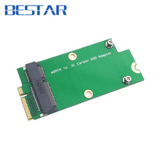 Mini pcie-express pci express pcie PCI-E ssd mSATA SSD to for Sandisk SD5SG2 Lenovo X1 Carbon Ultrabook SSD Add on Cards PCBA(China)