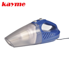 Kayme mini handheld car vacuum cleaner 80W 3000PA wet and dry auto portable dust brush for car(China)