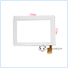 For Sanei N10 3G Dual Core White TPC0323 Touch Screen Digitizer(China)