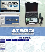 auto software alldata mitchell on demand all data 10.53 ATSG with hard disk 1tb installed version toughbook cf30 laptop windows7