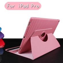 for Apple ipad Pro 12.9 inch ablet Case 360 Degree Rotating PU Leather Stand Flip Folio Ultra thin Screen Protector Cover