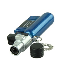 JY 5 Mosunx Business 2016 Hot Selling Jet Torch Windproof Cigar Cigarette Refillable Butane Gas Lighter AM-136