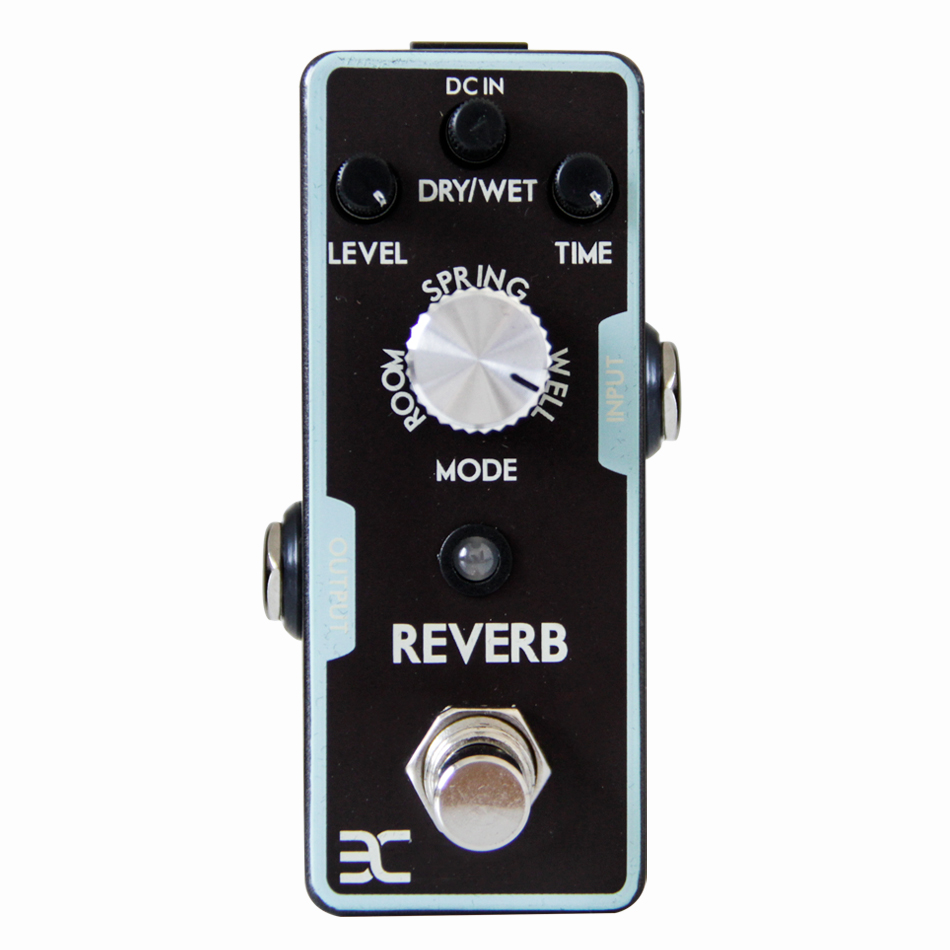Eno REVERB Electric Guitar Pedal True bypass Full Metal Shell Experience any reverbs from Spring.<br>
