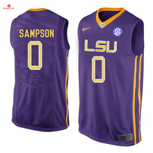 Nike 2017 LSU Elbert Robinson III 3 Can Customized Any Name Any Logo Ice Hockey Jersey Duop Reath 1 Brandon Sampson 0(China)