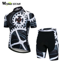Weimostar 2018 Pro Team Cycling Clothing Summer MTB Bike Jersey Set Downhill Cycling Jersey Set Racing Sport Bicycle Clothing