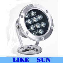 CP 6w 12W 18w 24w 36w IP68 led underwater Light RGB led light  IP68 Diving Flashlight For Swiming Pool Piscina Aquarium Fountain
