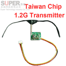 5pcs/lot Taiwan Chip 1.2G wireless transmitter CCTV security mould 1.2G TX transmitter for CCTV transmitter 1.2G transmitter