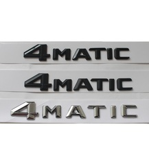 """ 4MATIC "" Car Trunk Rear Letters Word Badge Emblem Letter Decal Sticker for Mercedes-Benz Mercedes Benz(China)"
