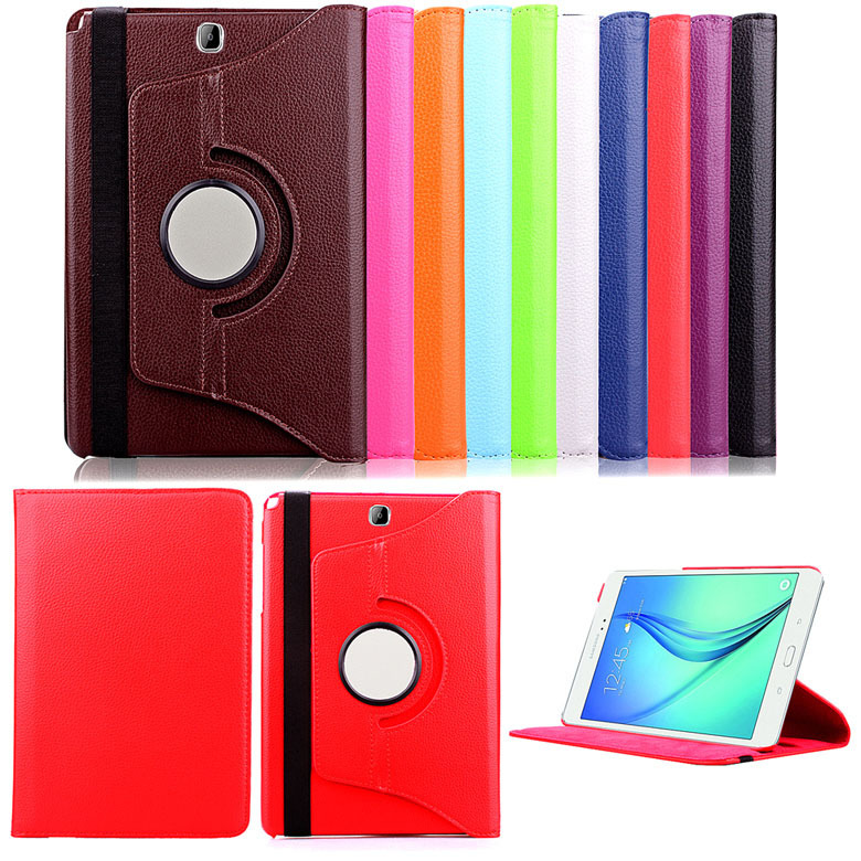 Leather Case Cover for Samsung Galaxy Tab A 9.7 T550 T550 360 Leather Case for Samsung Galaxy Tab A 9.7 Inch accessories<br><br>Aliexpress