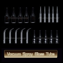 20 Pieces of Small Ventouse Glass Tube Replace Attachment For Vacuum Spray Beauty Machine
