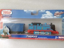 Thomas NO.1 Electric Thomas and friend Trackmaster engine Motorized train Children child kids toys NIB with truck