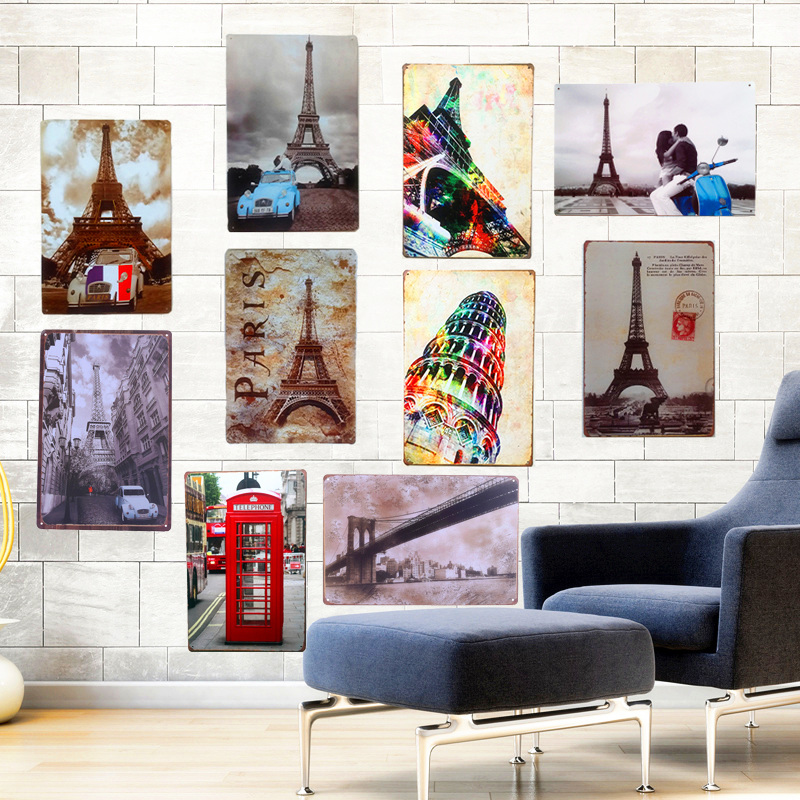 lounge room wall art work hard and be nice tin metal sign US Seller