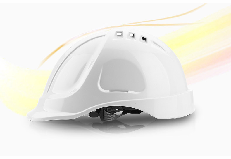 Safety Helmet Hard Hat Work Cap ABS Material Construction Protect Helmets High Quality Breathable Engineering Power Labor Helmet (8)