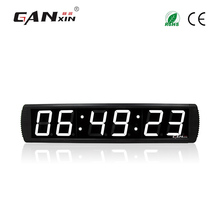 [Ganxin]4' Personalized Aluminium Alloy Hot Selling Led Digital Desk Alarm Clock Manufacturer Provide