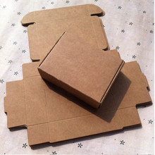 "6*5.5*2cm 100Pcs/ Lot Chocolate Brown Kraft Paper Gift Party Boxes 2.36""x2.16""x0.78"" Vintage Small Craft Paper Pack Package Box"