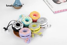 10Pcs Latest Design Cute Cable Cord Wire Organizer Winder With Wired Microphone 3.5mm In-ear Plug Headphones  For iPhone Sumsang