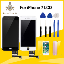 Top Quality AAA LCD For iPhone 7 7 Plus Display With Touch Digitizer Assembly Cold Glue Free Shipping(China)