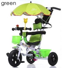 Pneumatic Inflatable 3 wheels tricycle children bicycle baby stroller bike kids ride on cars 6months 1-2-3-4-5 years old toys