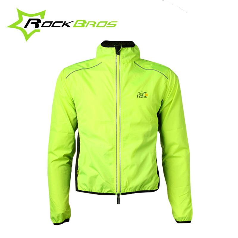 RockBros Men Windproof Cycling Riding Wind Coat Breathable Reflective Jersey Cycle Clothing Long Sleeve Jacket, 6 Color<br><br>Aliexpress