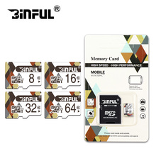 Binful Class 10 TF card memory card micro sd card 16gb high speed sd card 8gb micro sd C6 4gb cartao de memoria 32gb 16gb 64gb