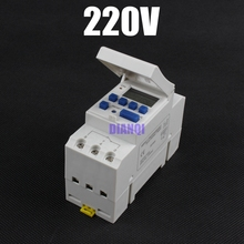 Electronic Weekly 7 Days Programmable Digital TIMER SWITCH Relay Control 220V 230V 6A 10A 16A 20A 25A 30A Din Rail Mount tp8a16