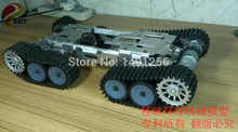 Big! 4 WD Obstacle Surmounting Tank Car Chassis/high Torque,Metal Structure,Big Load/smart Tank Car Chassis for DIY
