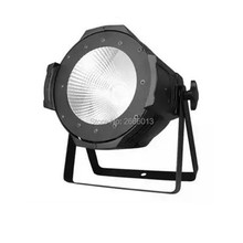 Free shipping 100W COB LED PAR DMX Theater Spotlight warm white and White LED Stage Lighting Projector led par 100w COB light