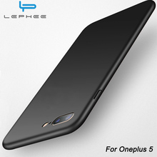 LEPHEE Oneplus 5 Case One plus 5 Cover PC Matte Hard Back Phone Cover Oneplus5 A5000 1 Plus Five Phone Cases Ultra Thin Luxury(China)