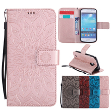 Flip Leather Case sFor Fundas samsung galaxy s4 mini case For coque samsung galaxy s4 mini i9190 Wallet Cover Phone Cases
