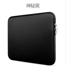 Soft Sleeve Laptop Bag Case For Macbook Air Pro Retina 13 Zipper Bags For Mac Book Carry Pouch Cover For Lenovo Notebook