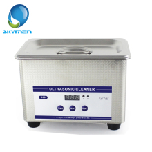 Skymen Stainless Steel Mini 0.8L 800ml Digital w/Timed Ultrasonic Cleaner Tank Ultra Sonic Wave Cleaning Bath(JP-008)