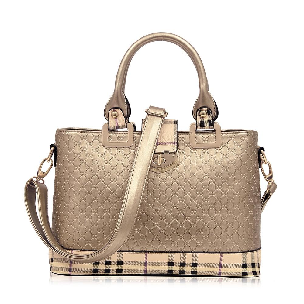 New Hot 2017 Tote Lady Fashion Messenger Bags High Quality Elegant Crossbody Bag Hot Bolsas Femininas  Silver ST2860<br><br>Aliexpress