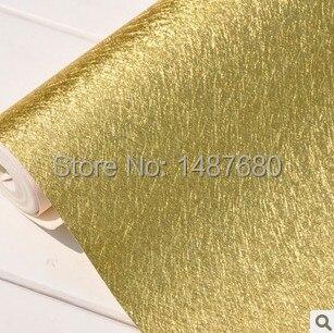 Gold foil wallpaper walls,gold wallpaper paste dome light tank,PVC wallpaper vInyl wallpapers for walls,TV background wall paper<br><br>Aliexpress