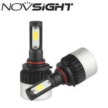 NOVSIGHT 6500K White 72W 9000LM/set 9005 HB3 Car LED Light Headlight Kit Car Fog Bulb Lamps with Cheap Price