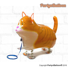 1PC Walking Cute Animals Pet , Walking Cat Kids Birthday Funny Easter Day Gifts Balloon(China)